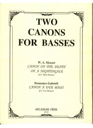 Two Canons for Basses