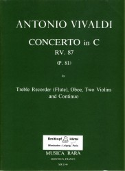 Concerto in C Major RV87