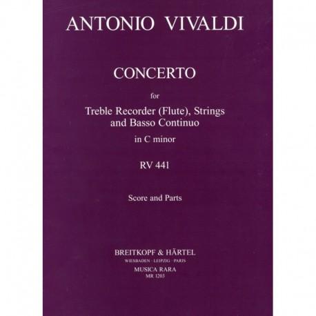 Concerto in c minor RV441