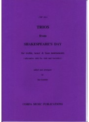 Trios from Shakespeare's Day