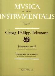 Trio Sonata in a minor