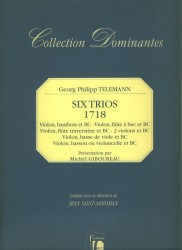 Six Trios  (1718)