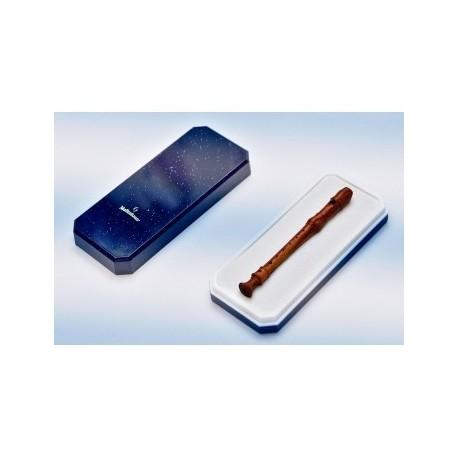 Decorative Handcrafted Miniature Recorder Tie pin, tulipwood