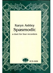 Spasmodic - A Duet for Four Recorders