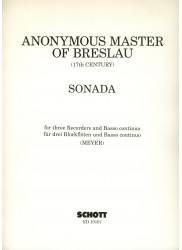 Sonata for Three Recorders