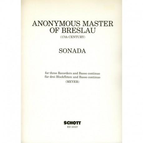 Sonata for Three Recorders