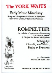 Rompeltier: the evolution of a 15th century German song