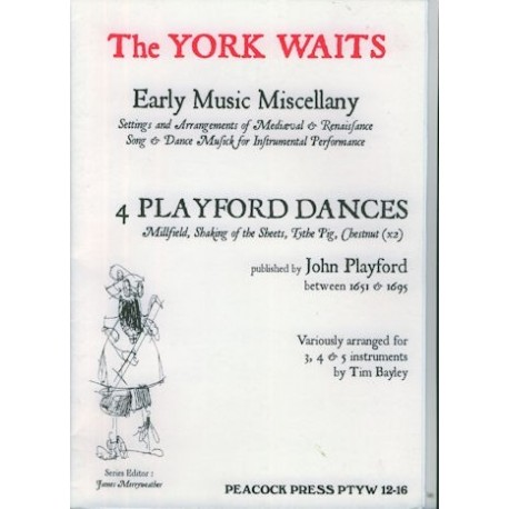 4 Playford Dances
