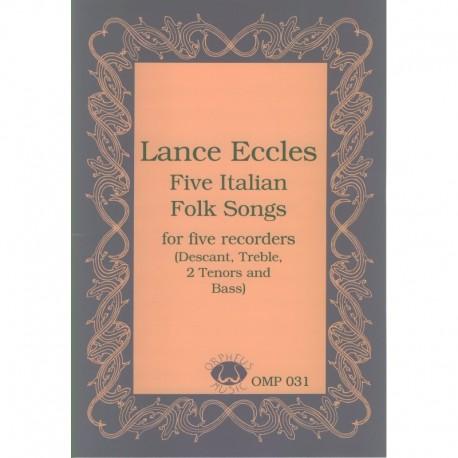 Five Italian Folk Songs