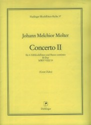 Concerto II B Major MWV VIII/19