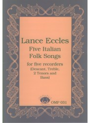 Five Italian Folk Songs