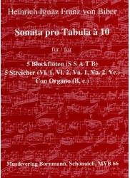 Sonata pro Tabula a 10