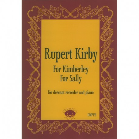 For Kimberley and For Sally