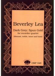 Dark Grey, Spun Gold