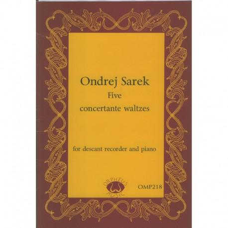 Five Concertante Waltzes