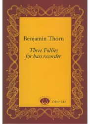 Three Follies for Bass Recorder