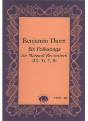 6 Folksongs for Massed Recorder