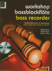 Workshop Bass Recorder, Vol 1 +CD