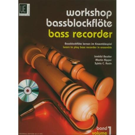 Workshop Bass Recorder, Vol 1 +CD