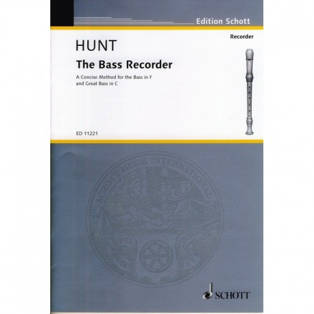 The Bass Recorder A Concise Method