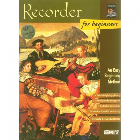 Recorder for Beginners - Book & CD