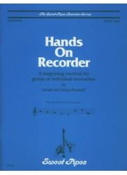 Hands On Recorder, Book One: A beginning method for group or individual instruction