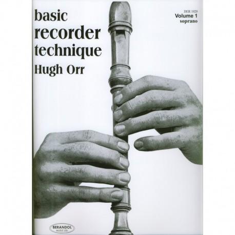 Basic Recorder Technique Vol 1