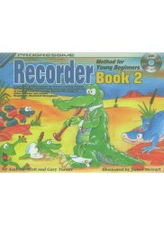 Progressive Recorder Method for Your Beginner Book 2