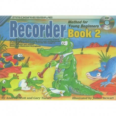 Progressive Recorder Method for Your Beginner Book 2