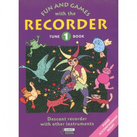 Fun and Games with the Recorder Tune Book Vol 1