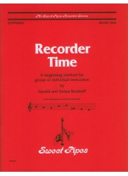 Recorder Time, Book One: A beginning method for group or individual instruction