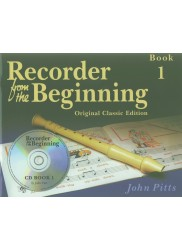 Recorder from the Beginning Book 1 - Original classic edition + CD