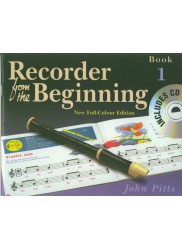 Recorder from the Beginning Book 1  New Edition +CD
