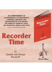 Recorder Time, Book One: Accompaniment CD.