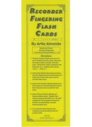 Recorder Fingering Flash Cards