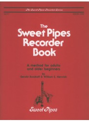 Sweet Pipes Recorder Book One, Alto