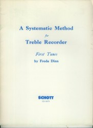 A Systematic Method for Treble Recorder First Tunes