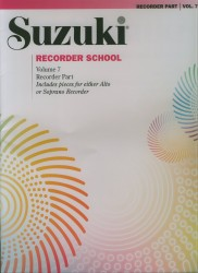 Recorder School Book 7 Recorder Part