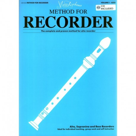 Method for Recorder (Vol 1 alto) with CD