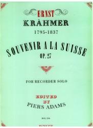 Souvenir a la Suisse, Op. 27