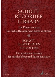 The Finest Sonatas for Treble Recorder and Basso continuo
