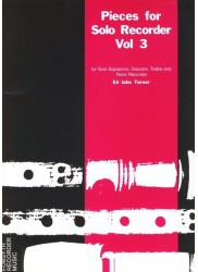 Pieces for Solo Recorder Volume 3