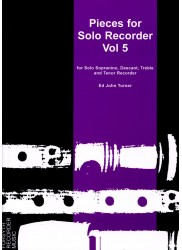 Pieces for Solo Recorder Vol 5