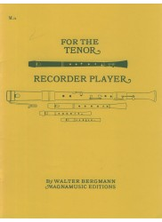 For the Tenor Recorder Player