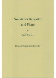 Sonata for Recorder and Piano
