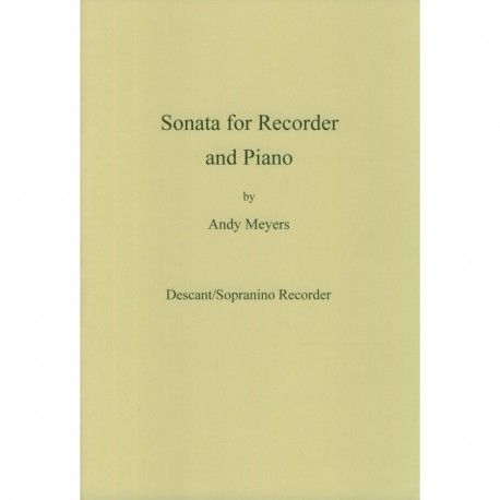 Sonata for Recorder and Piano