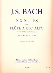 Six Suites for Treble (after Solo Cello Suites): Vol 1 Suites 1-III