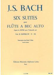 Six Suites for Treble (after Solo Cello Suites): Vol 2 Suites IV-VI