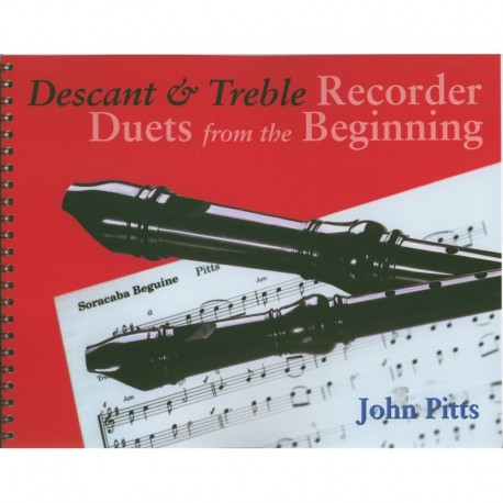 Descant & Treble Recorder Duets from the Beginning