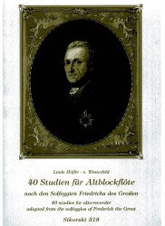 40 Studies from the Solfeggios of Frederick the Great